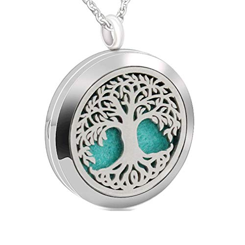 Chaomingzhen Tree of Life Essential Oil Necklace Fragrance A