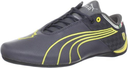 PUMA Future Cat M1 Big 102 O Ferrari Fashion Sneaker,Dark Shadow/Vibrant Yellow,13 (Future Cat M1 Sneaker)