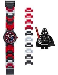 LEGO Quartz Plastic Watch, Color:Black (Model: 8020301)