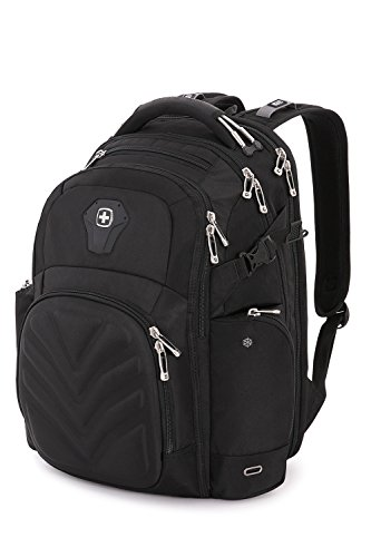 SwissGear 5709 ScanSmart Laptop Backpack, Abrasion-Resistant & Travel-Friendly Laptop Backpack