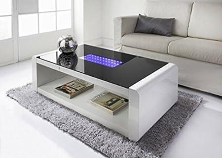 Neuf LED Table et élégant Infinity Basse Scotrade Blanc ZiOPkuX