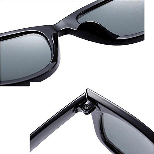 protection Black soleil lunettes film UVA frame de Lunettes Fashion Big soleil WLHW pilote UV Men's HD blue de confort verre lunettes Mme 4AUcqT8w