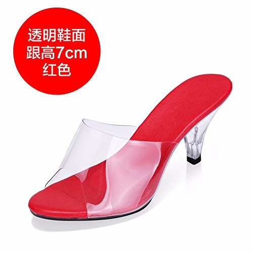 de FLYRCX verano sexy de a Señoras con personalidad zapatos alta moda fiesta sandalias OZSXqWAZ