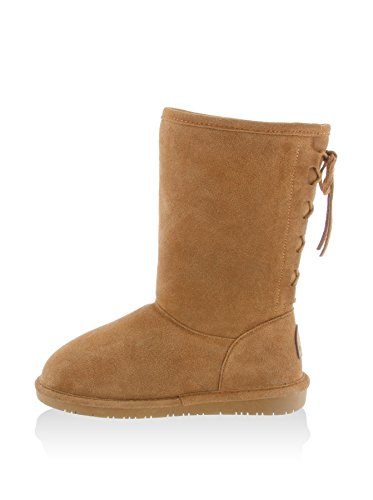 Bearpaw Boots Womens Laces Back 10 Suede Phyllis 5 Hickory 1810W
