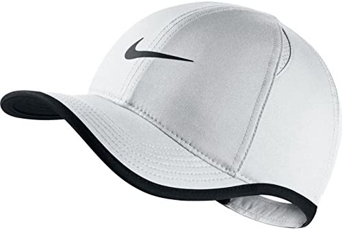 Nike Y NK AROBILL FTHRLT Cap Gorra de Tenis, Unisex niños, Blanco ...