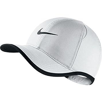 1786870d22eb6 Nike 739376-100 Casquette Mixte Enfant, Blanc Noir, FR Fabricant : Taille  Unique