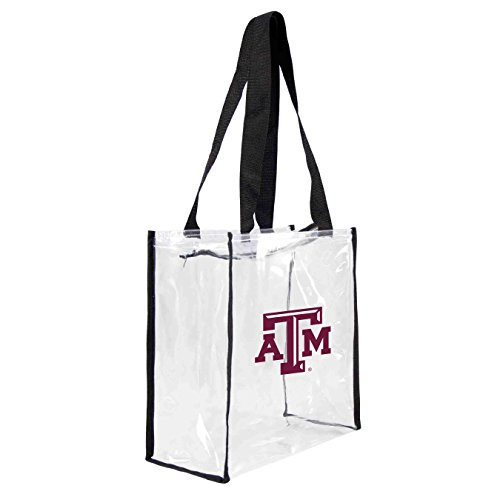 (NCAA Texas A&M Aggies Clear Square Stadium Tote)