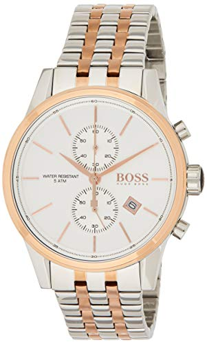 Hugo BOSS Mens Chronograph Quartz Watch with Stainless Steel Strap 1513385