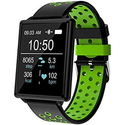 Pinkfishs 1 44 IPS Color Screen IP67 Waterproof Smart Watch Heart Rate Blood Pressure Oxygen Monitor Fitness Sports Wristband Estimated Price -