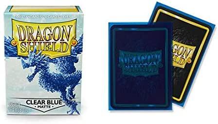 Dragon Shield Sleeves Matte Clear 100 Pk