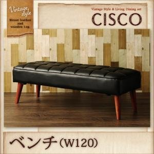 IKEAニトリ好きに。ヴィンテージスタイルリビングダイニングセット【CISCO】シスコ/ベンチ   バイキャストブラック B01G7ZEMFA