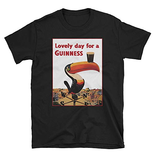 Retro Magazine Advertisement - Lovely Day for A Guinness Vintage Beer Ads Shirt Black