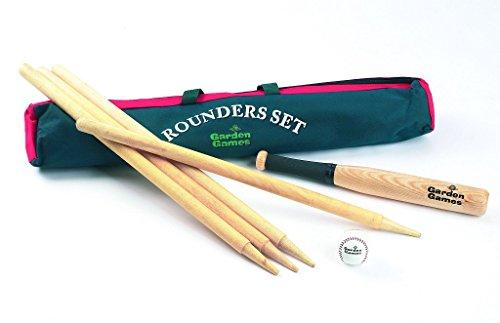 Garden Games Rounders Set in handy carry bag by Garden Games