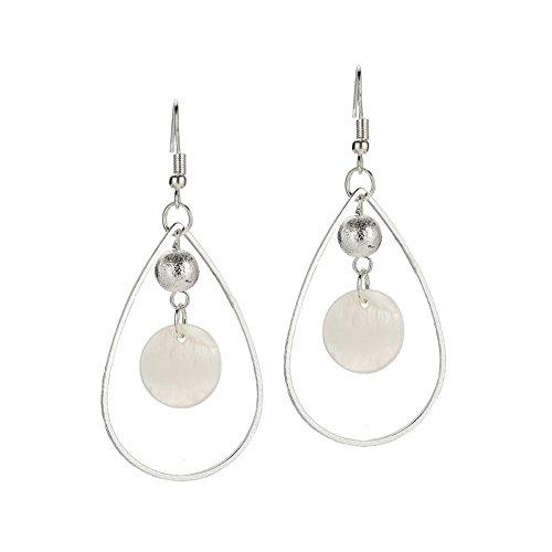Domybst Long Sugar Color Pearl Elegant Tassel Simple Earrings (Simple Womens Sugar)