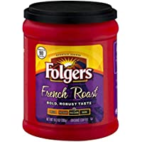 Folgers French Roast Ground Coffee