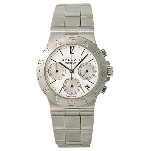 Bvlgari Diagono Automatic-self-Wind Male Watch CH 35 S (Certified Pre-Owned)
