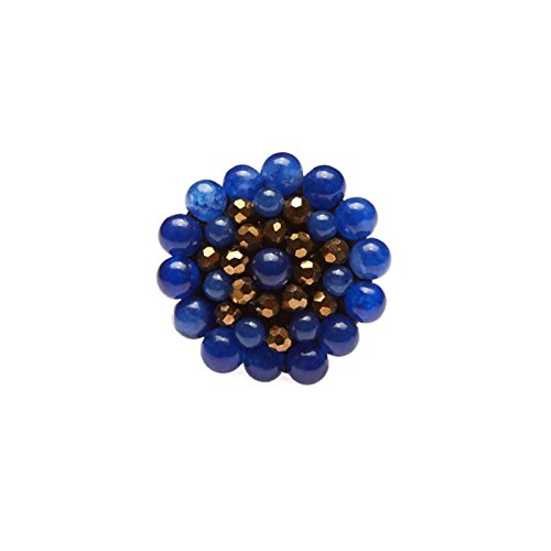 blue-round-stone-beads-ring-with-stone-bead-crystal-bead-wax-cotton-string-ring