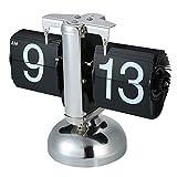 Anself Retro Flip Dоwn Clock, Flip Desk Shelf