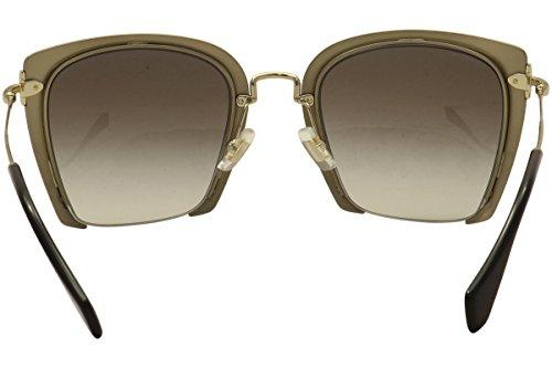 Miu Miu Women's Cut Frame Sunglasses, Black/Grey, One Size