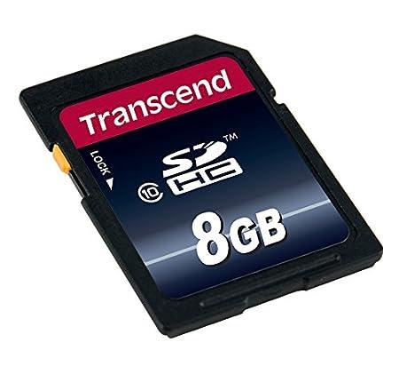 Transcend TS8GSDHC10 - Tarjeta de Memoria de 8 GB (Clase 10, 30 MB ...