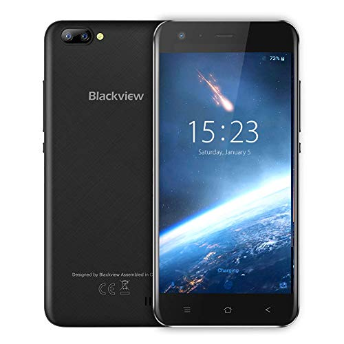 (Blackview A7 GSM Cell Phone Unlocked,Rugged Smartphone Dual Samsung Rear Cameras,8GB ROM Android 7.0,5.0