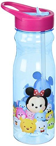 Zak Designs TSUB-P280 Tsum Tritan Straw Bottle, 25 oz, Multi