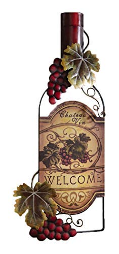 Accents Depot Vineyard Wine Bottle Kitchen Wall Art by Accents Depot