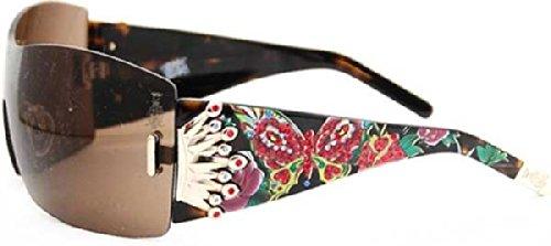 Christian Audigier CAS406 Fantasy Sunglasses Color Tortoise