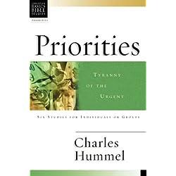 Priorities: Tyranny of the Urgent (Christian Basics Bible Studies)