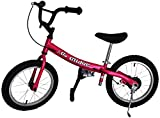 Glide Bikes Kid's Go Glider Balance Bike, 16-Inch (Renewed)