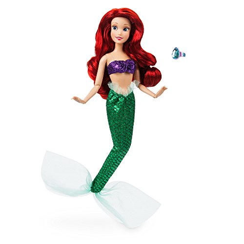 (Disney Ariel Classic Doll with Ring - The Little Mermaid - 11 1/2 Inch)