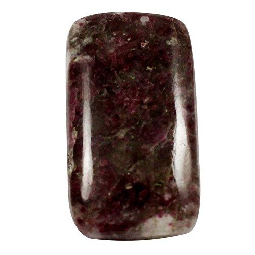 Gems&Jewels 21.70cts Natural Designer Matrix Pink Tourmaline Cabochon Octagon Loose Gemstone