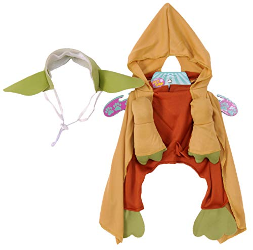 Star Wars Yoda with Plush Arms Pet Costume Medium - http://coolthings.us