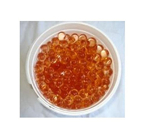 1 pound bulk package Water Beads (Custom Rootbeer Brown) for Use in Centerpieces & with LED Water Submersible Lights,Tea Lights & Floating Candles & Vase Filler Gel Water Beads