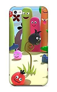 Ortiz Bland Perfect Tpu Case For Iphone 5c/ Anti-scratch Protector Case (3d Anime Loco Objects)
