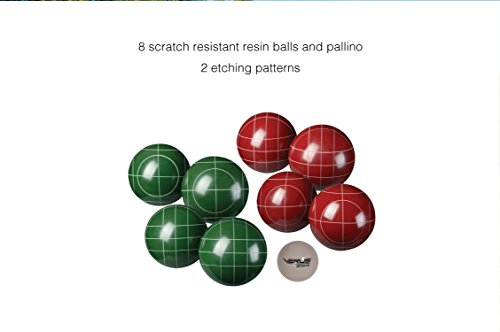 Verus Sports Expert Bocce Ball Set with Easy Carry Nylon Case (9-Piece), 107mm by Verus Sports (Image #5)