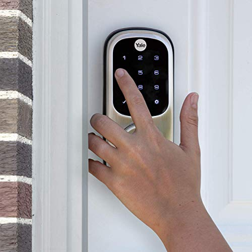 Yale Assure Lock Touchscreen, Wi-Fi Smart Lock – Works with the Yale Access App, Amazon Alexa, Google Assistant, HomeKit…