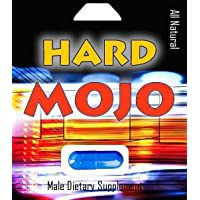 Hard Mojo- All Natural Male Supplement, Each Capsule Lasts 3 Days, Guaranteed, Safe...