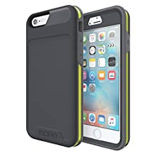 iPhone 6S Case, Incipio [Performance] Series Level 5 [Ultimate Drop Protection] Cover fits iPhone 6, iPhone 6S - Gray/Yellow
