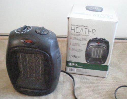 Intertek 1500 Watt Ceramic Electric Portable Heater