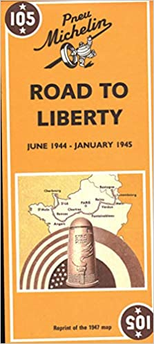 Michelin Road To Liberty Map No 105 Michelin 9782067002654
