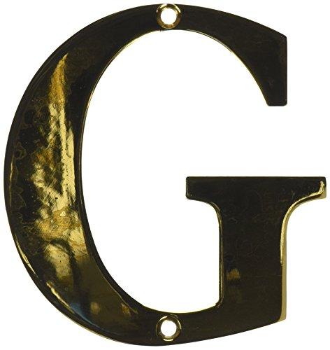 (Deltana RL4G-CR003 4-Inch Residential Letter G House Board)