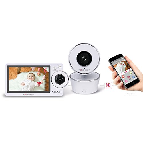 Project Nursery High-Definition Dual Connect Baby Monitor System with WiFi Viewing and Dedicated Parent Unit by Project Nursery