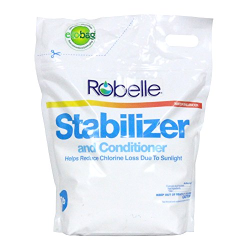 Pool Stabilizer Conditioner (Robelle 2607B Stabilizer for Swimming Pools, 7 lb)