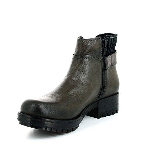 CAF NOIR GH135 gris postal zapatos botas de mujer Grigio