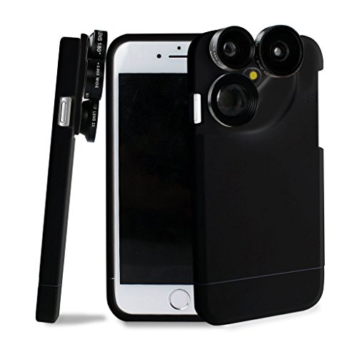 iPhone 6S Plus Camera Lens Kit,4 in 1 Lens Kit,Fisheye Wide Angle Camera...