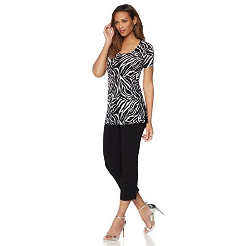 Printed Tunic & Cropped Pants - 2