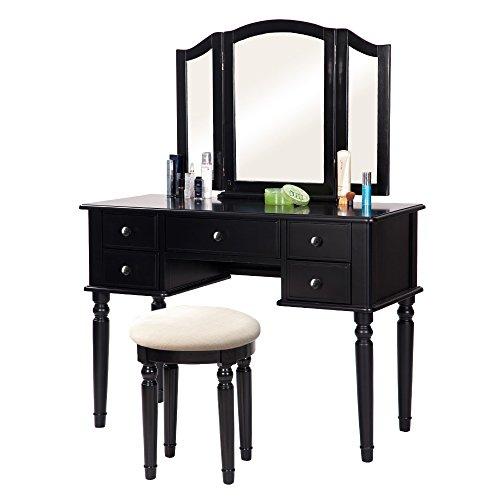 Merax Vanity Set W Stool Make Up Dressing Table Bedroom Dressing Table Good Deals Today