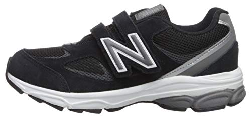 New Balance Boys' 888v2 Hook and Loop Running Shoe Black/Grey 2 XW US Infant by New Balance (Image #5)