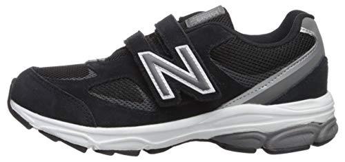 New Balance Boys' 888v2 Hook and Loop Running Shoe, Black/Grey, 2 M US Infant by New Balance (Image #5)